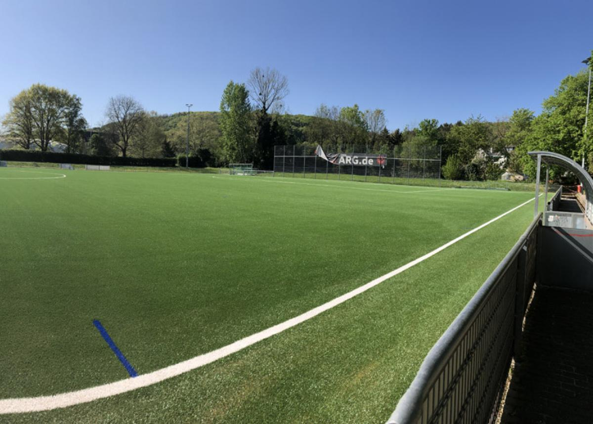 Domo Sports Grass builds brand new pitch for FC Blau-Weiß Friesdorf.