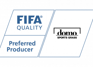 Logo FIFA Preferred Producer - Domo Sports Grass