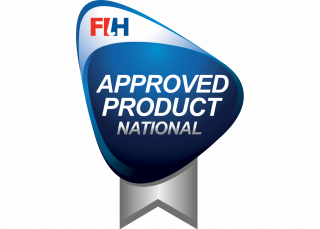 Logo FIH approved product national - Domo Sports Grass