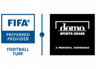 Logo FIFA Preferred Provider - Domo Sports Grass