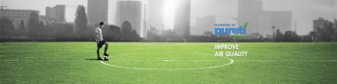 PURETi TECHGRASS - Domo Sports Grass  - improve air quality header