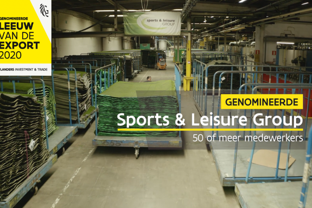 Sports & Leisure Group (Domo Sports Grass) is honoured and excited to be nominated for the prestigious Leeuw van de Export award